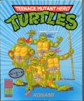 Teenage Mutant Ninja Turtles Commodore 64 Front Cover