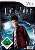 Harry Potter and the Half-Blood Prince Wii Front Cover