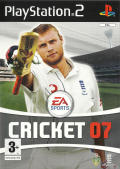 Cricket 07 PlayStation 2 Front Cover