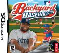 Backyard Baseball '10 Nintendo DS Front Cover