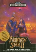 Phantasy Star II Genesis Front Cover