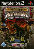 Monster Attack PlayStation 2 Front Cover
