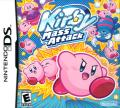 Kirby: Mass Attack Nintendo DS Front Cover