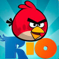 Angry Birds: Rio iPhone Front Cover