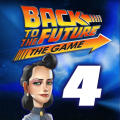 Back to the Future: The Game - Episode 4: Double Visions iPad Front Cover