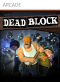 Dead Block Xbox 360 Front Cover