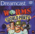 Worms World Party Dreamcast Front Cover