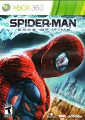 Spider-Man: Edge of Time Xbox 360 Front Cover