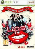 Lips: Number One Hits Xbox 360 Front Cover