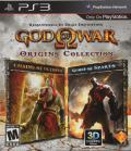 God of War: Origins Collection PlayStation 3 Front Cover
