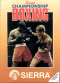 Sierra Championship Boxing Commodore 64 Front Cover