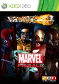 Pinball FX2: Marvel Pinball Xbox 360 Front Cover