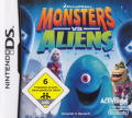 Monsters vs. Aliens Nintendo DS Front Cover