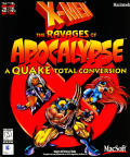 X-Men: The Ravages of Apocalypse Macintosh Front Cover
