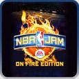 NBA Jam: On Fire Edition PlayStation 3 Front Cover