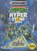 Teenage Mutant Ninja Turtles: The HyperStone Heist Genesis Front Cover