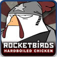 Rocketbirds: Hardboiled Chicken PlayStation 3 Front Cover