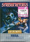 Strider 2 Game Gear Front Cover