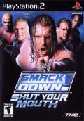 WWE Smackdown! Shut Your Mouth PlayStation 2 Front Cover