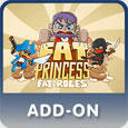 Fat Princess: Fat Roles PlayStation 3 Front Cover