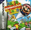 Mario Pinball Land Game Boy Advance Front Cover