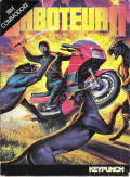 Saboteur II Commodore 64 Front Cover