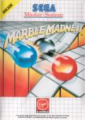 Marble Madness SEGA Master System Front Cover