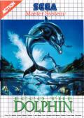 Ecco the Dolphin SEGA Master System Front Cover