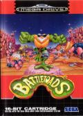 Battletoads Genesis Front Cover