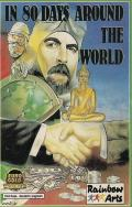 In 80 Days Around the World Commodore 64 Front Cover