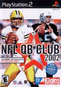 NFL QB Club 2002 PlayStation 2 Front Cover