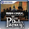 Sam & Max: The Devil's Playhouse PlayStation 3 Front Cover
