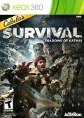 Cabela's Survival: Shadows of Katmai Xbox 360 Front Cover