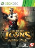 Duke Nukem Forever: Hail to the Icons Parody Pack Xbox 360 Front Cover