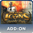 Duke Nukem Forever: Hail to the Icons Parody Pack PlayStation 3 Front Cover