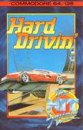 Hard Drivin' Commodore 64 Front Cover