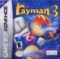 Rayman 3 Game Boy Advance Front Cover