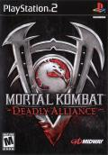 Mortal Kombat: Deadly Alliance PlayStation 2 Front Cover
