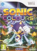 Sonic Colors Wii Front Cover