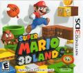 Super Mario 3D Land Nintendo 3DS Front Cover