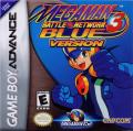 Mega Man Battle Network 3: Blue Version Game Boy Advance Front Cover