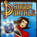Dragon Portals iPhone Front Cover