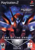 Zone of the Enders PlayStation 2 Front Cover