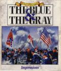 Edward Grabowski's The Blue & The Gray DOS Front Cover