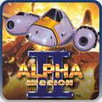 Alpha Mission II PlayStation 3 Front Cover