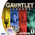 Gauntlet: Legends Dreamcast Front Cover