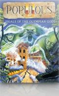 Populous II: Trials of the Olympian Gods Windows Front Cover