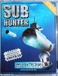 Sub Hunter Amstrad CPC Front Cover