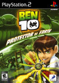 Ben 10: Protector of Earth PlayStation 2 Front Cover