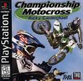 Championship Motocross Featuring Ricky Carmichael PlayStation Front Cover